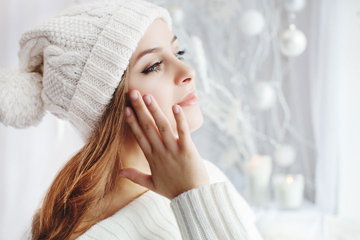 女性の冬のお肌